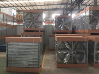 負壓風機產品倉庫