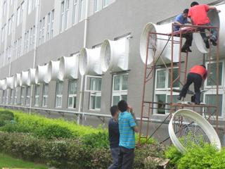 玻璃鋼風機安裝