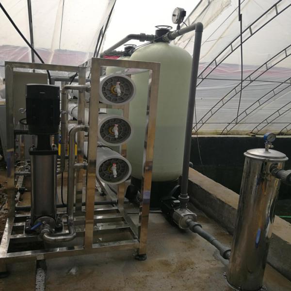 山东农村纯净水设备生产线:净水设备的特点