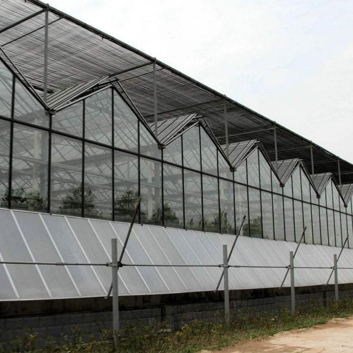 冬季连栋玻璃温室加热方法