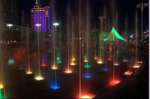 西安音乐喷泉工程