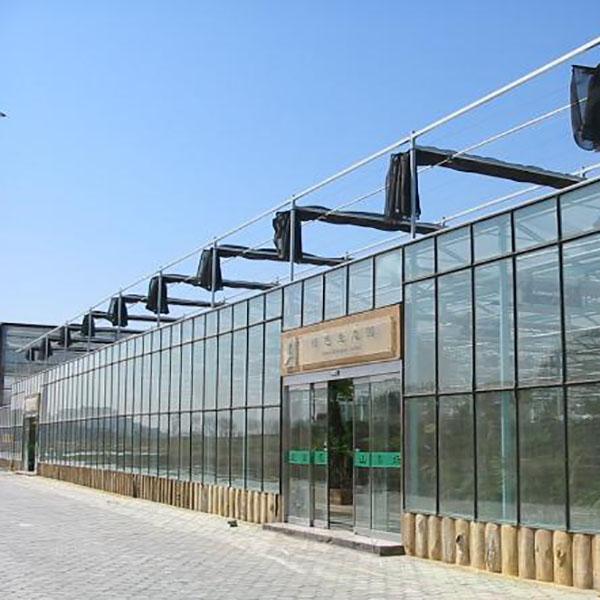 寿光阳光板玻璃温室