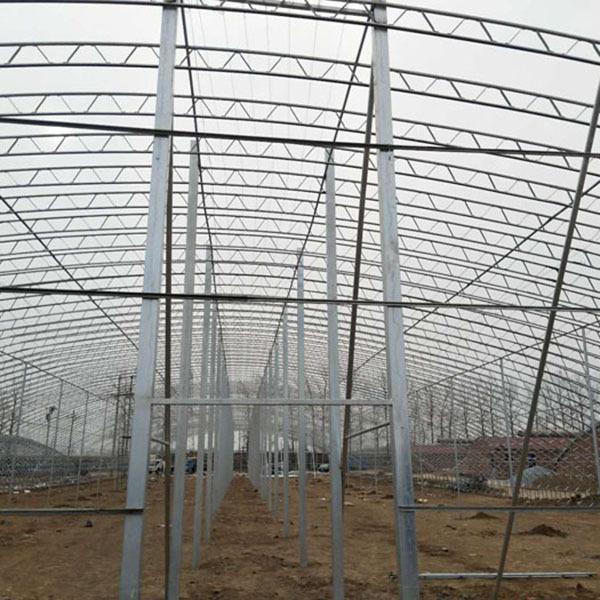 蔬菜大棚骨架建设
