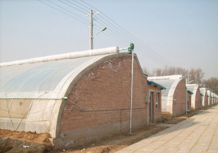 新型日光温室建造