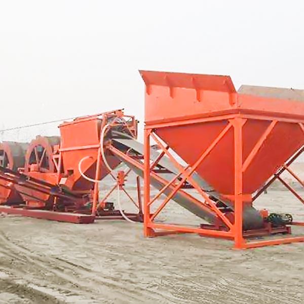 河南风化砂洗沙机