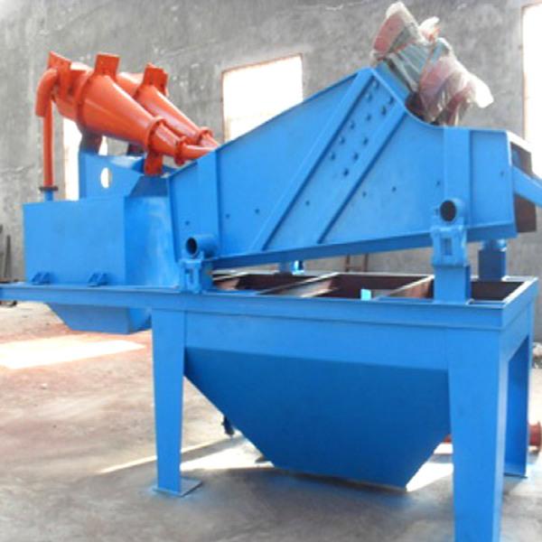 华西机械之水轮洗沙机