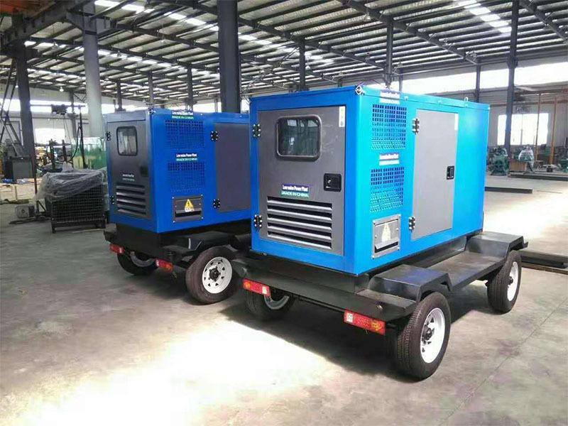 西藏350KW发电机组:移动发电机组的安装流程