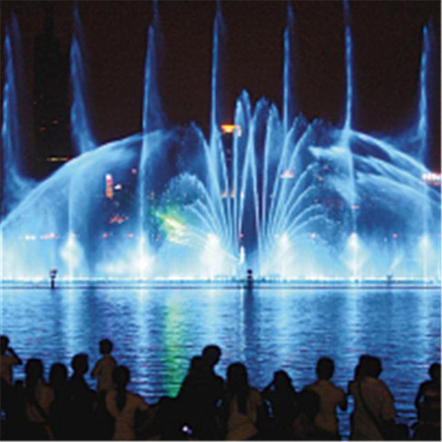 西安冷雾喷泉设计