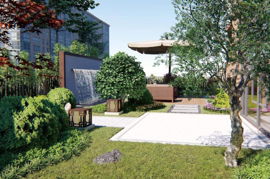 环球城香麓园庭院设计