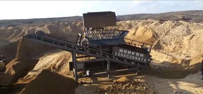 筛沙洗沙设备