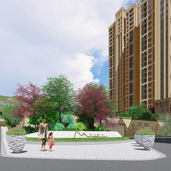 狮峰新苑地产景观设计