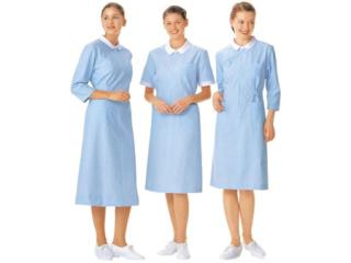 白色翻领护士服