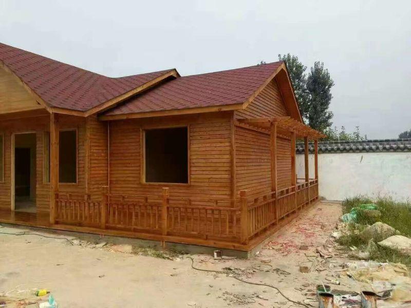 东营防腐木木屋