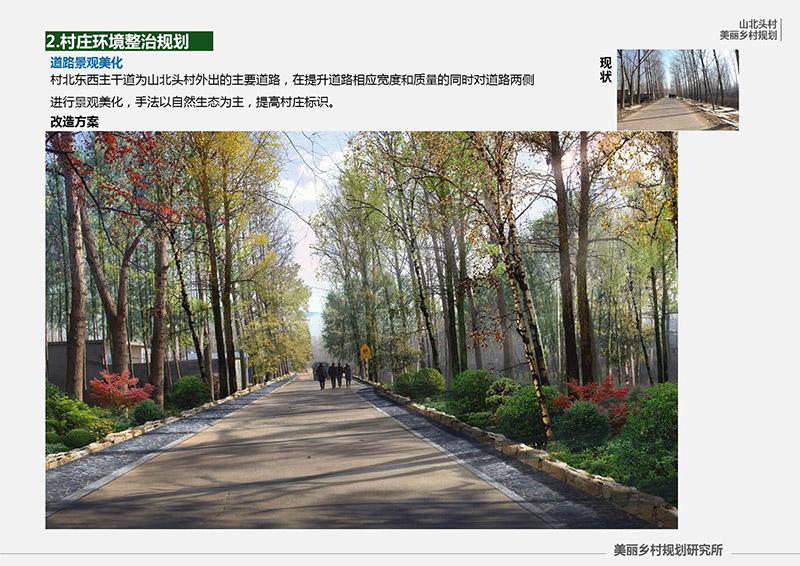 沂南县青坨镇山北头村规划