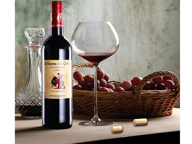 吉洛斗牛士红葡萄酒-金标