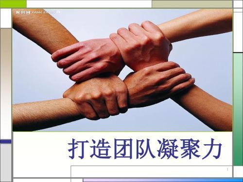 提高团队凝聚力手势图片