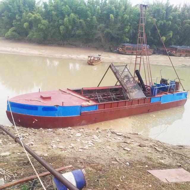 抽沙船在不同场合的多种用途