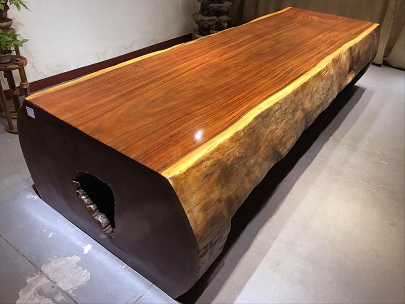 怎么买性价比高的奥坎花梨实木大板呢 |超值的奥坎花梨实木大板