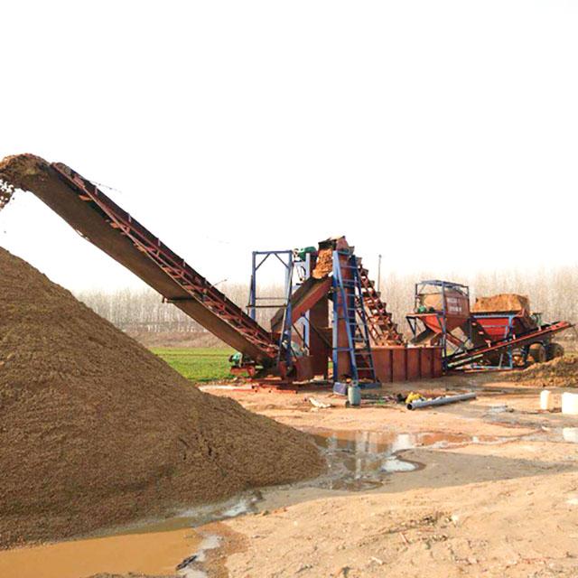 横川风化砂洗沙机