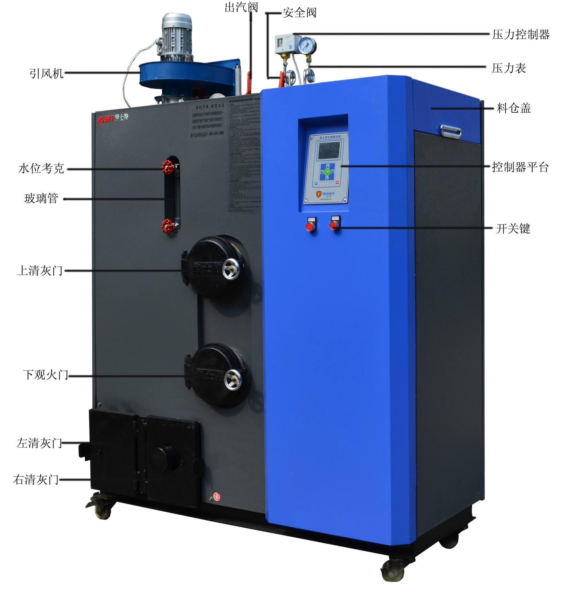 厂家供应生物质蒸汽发生器_贵州福鑫宏源高质量的150KG生物质蒸汽发生器出售