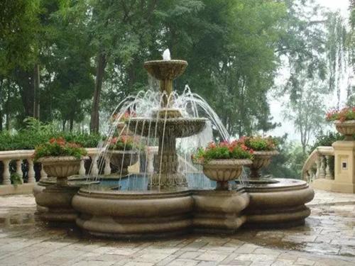 喷泉施工方法