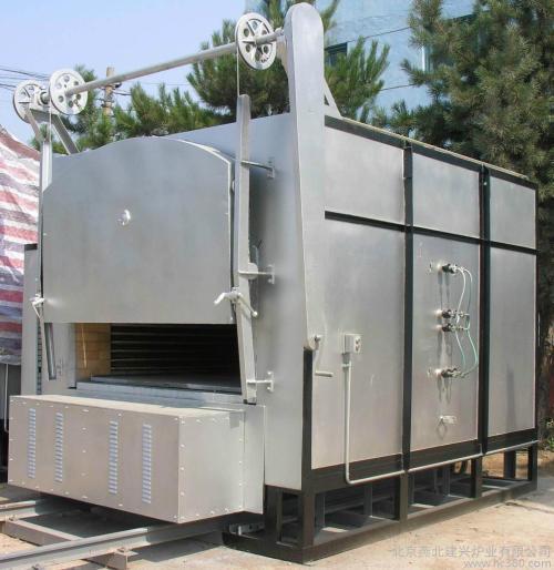 300KW台车炉