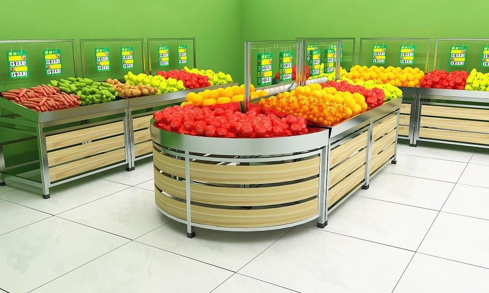 优质蔬菜水果架
