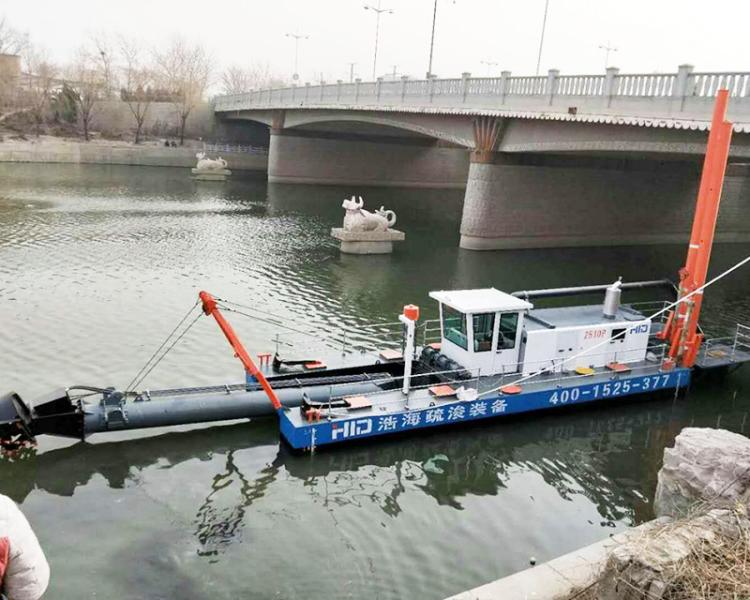 HID-CSD2510TP清淤挖泥船