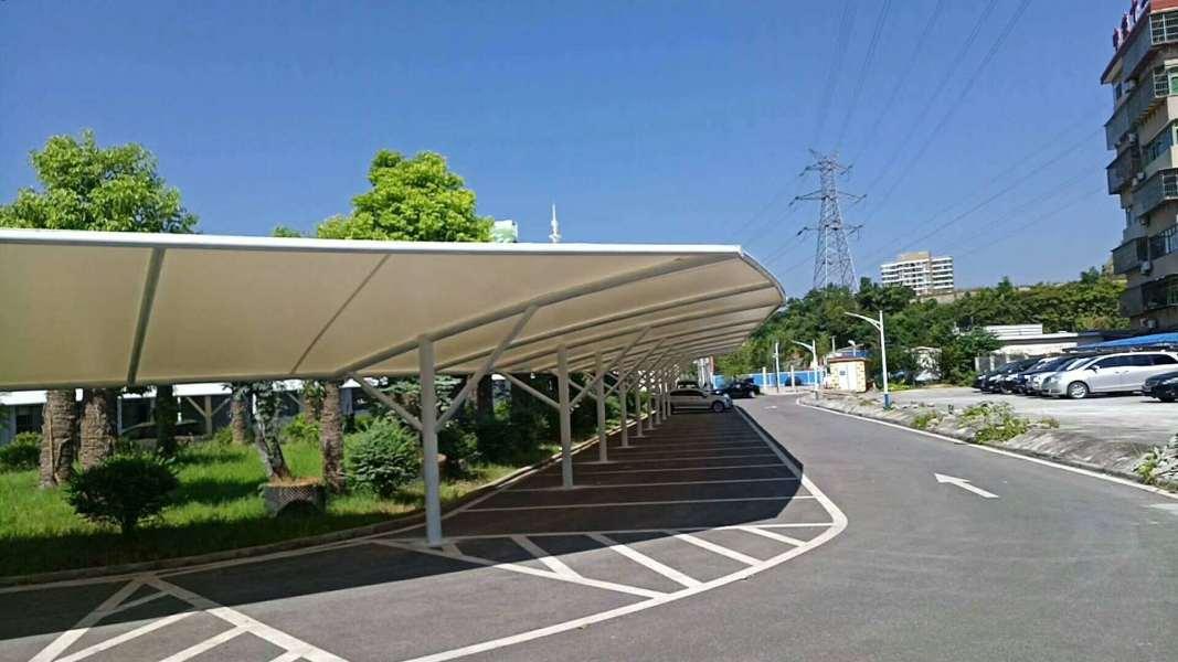 咸宁停车棚膜结构