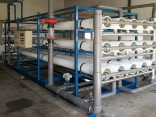 桶装水处理设备生产线