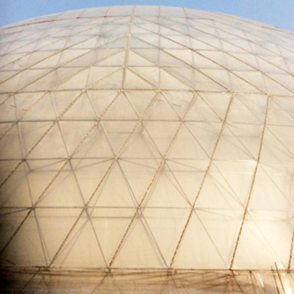 球形鸟巢温室