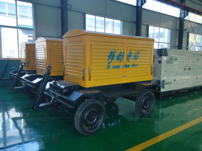 「山东拖车发电机组」柴油发电机组启动运行后的工作及活塞的功用