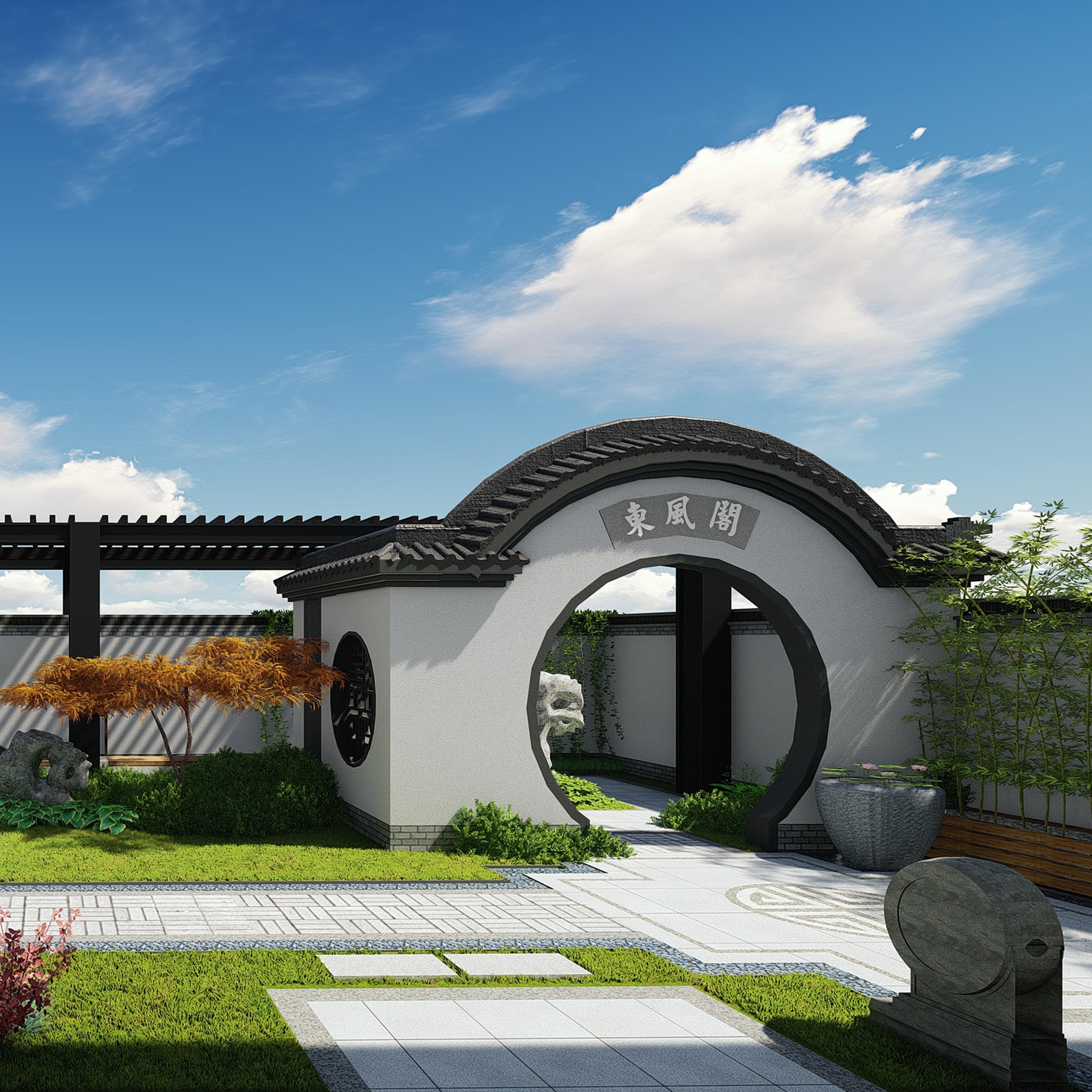 颐高上海街屋顶露台景观设计