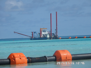 斯里兰卡HID5522P挖泥船