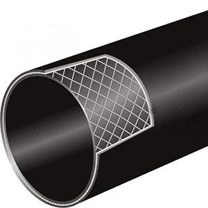 山东淄博PE钢丝网骨架管厂:PE塑料薄膜的吹膜成型工艺