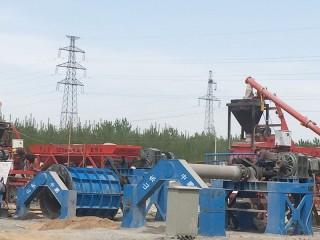 悬辊式水泥制管机案例