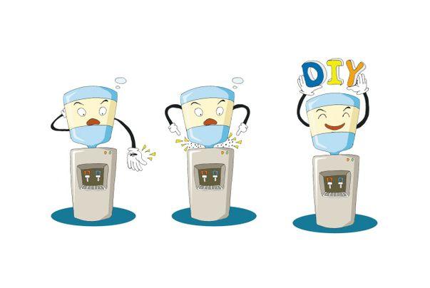 宁德温热饮水机,细节点量生活