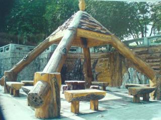 西安仿木廊子