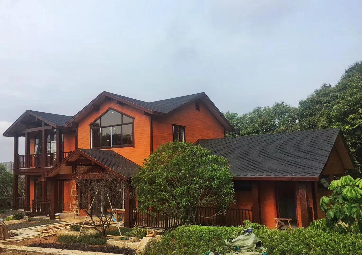 高质量的胶合木框架结构房屋直销 福建胶合木