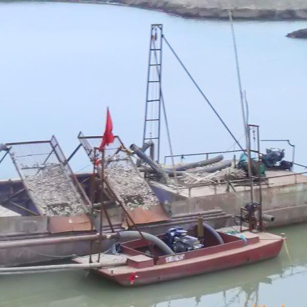 选购质量可靠的挖泥船就选恒川矿砂 青州绞吸式挖泥船
