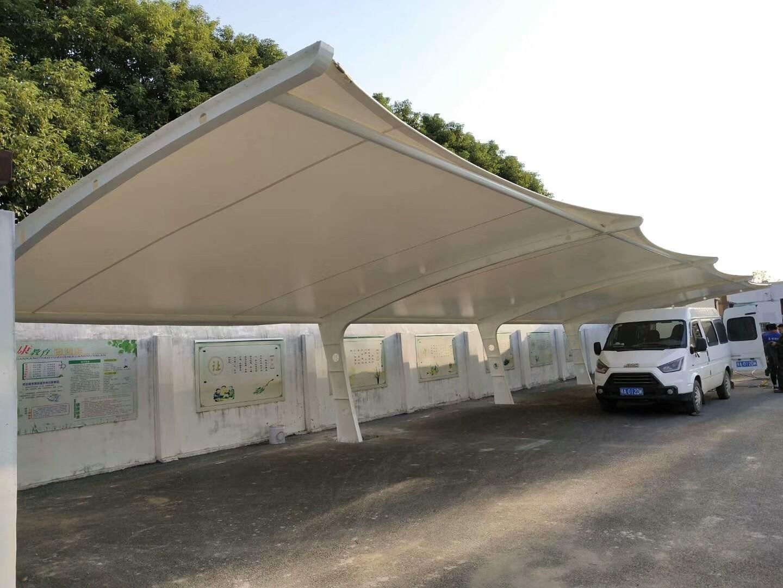 武汉停车棚膜结构