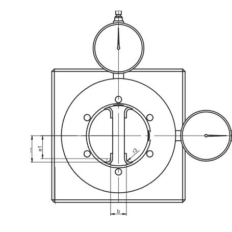 HSK刀柄-传动槽检具