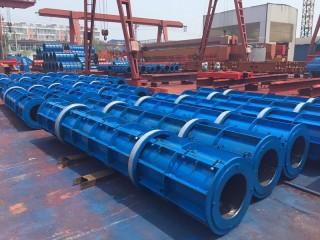 水泥井管设备案例