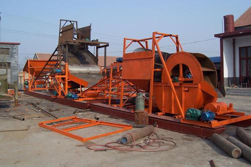 风化沙生产线