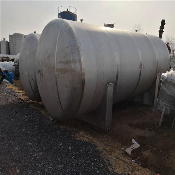 二手25吨卧式储存罐,辉洋二手设备,信誉好的二手储罐供应商