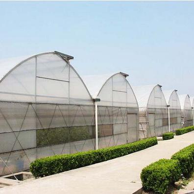 连栋塑料温室建设