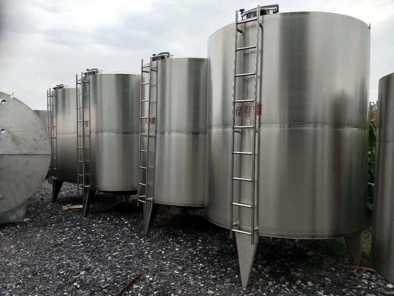 濟寧哪里有賣口碑好的二手不銹鋼儲罐,二手100立方玻璃鋼罐