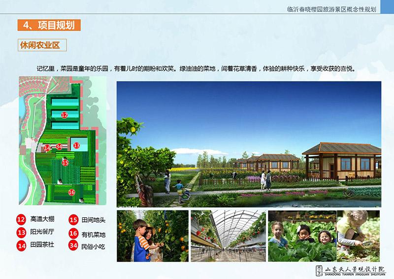 临沂春晓樱园旅游景区规划