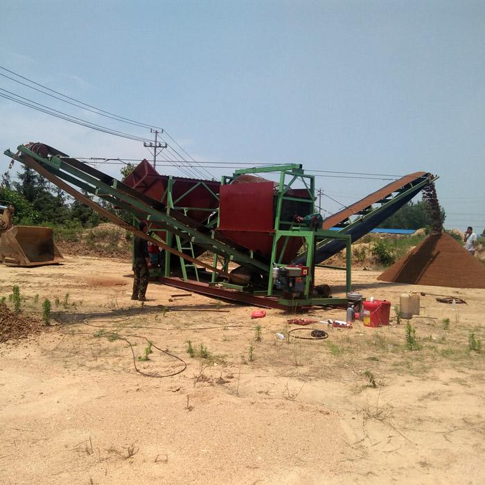 筛沙机械加工