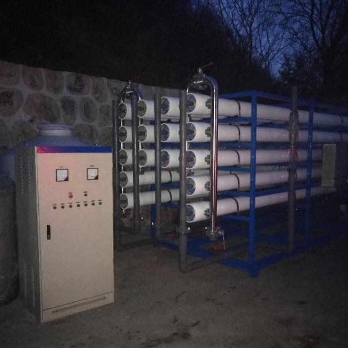 超滤反渗透设备生产线